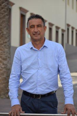 El portavoz del PP en el Cabildo de Fuerteventura, Claudio Gutiérrez