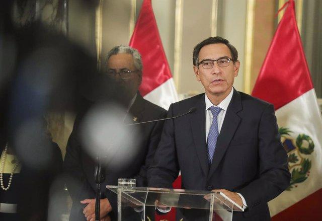 Perú.- Fiscales anticorrupción registran el Palacio de Gobierno de Perú por la c