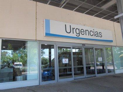 Herido un ciclista tras sufrir un atropello en una rotonda de la N-111 en Albelda de Iregua
