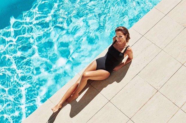 Paula echevarria en bañador espectacular instagram