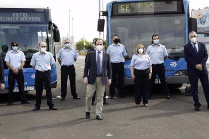 Un total de 140 conductores de EMT transportaron de forma altruista a más de 3.100 sanitarios en la pandemia