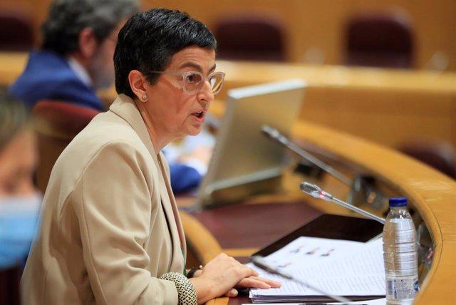 OMC.-González Laya participa mañana en debate sobre la OMC, tras publicarse su n