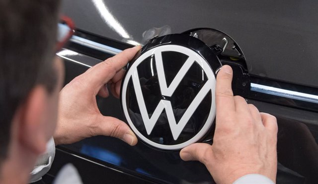 Imagen del logo de Volkswagen.