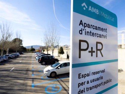 El AMB reactiva los aparcamientos de intercambio en cinco municipios