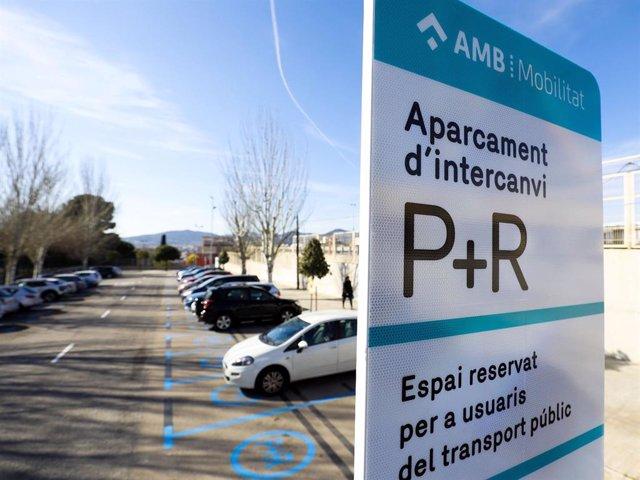 Aparcamientos de intercambio P+R de AMB