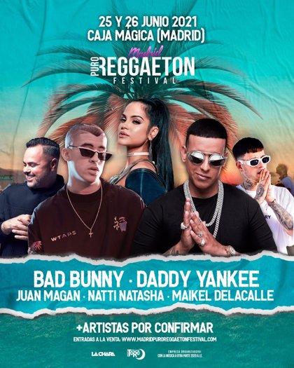 Aplazado a 2021 el Madrid Puro Reggaeton Festival, que se traslada a La Caja Mágica