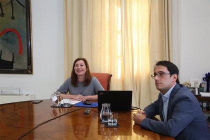 """Armengol se reúne con el embajador de Alemania para """"garantizar la recuperación"""" del turismo germano hacia Baleares"""