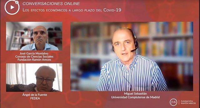 Coloquio online organizado por Fundación Ramón Areces