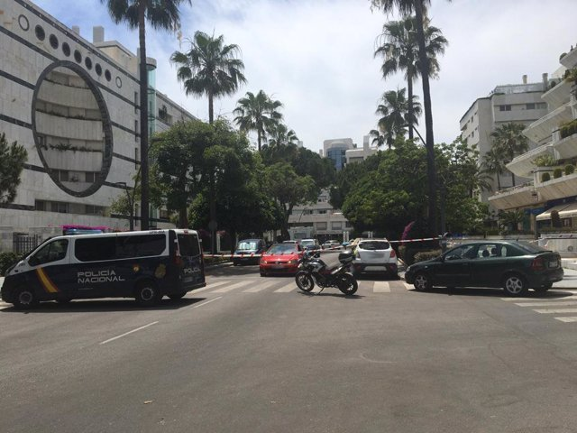 Calle tiroteo Marbella