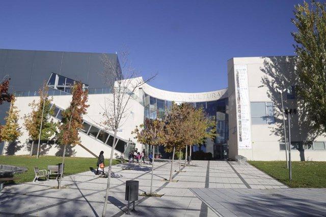 El centro cultural José Saramago en la localidad de Leganés, donde se ubica la biblioteca municipal Julio Caro Baroja.