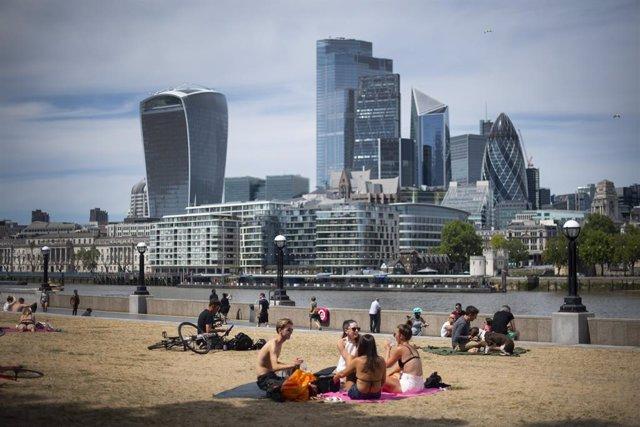 Imagen de Londres durante la pandemia de coronavirus
