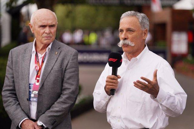 "Fórmula 1.- Carey: ""Si un piloto da positivo, saldrá el piloto reserva disponibl"