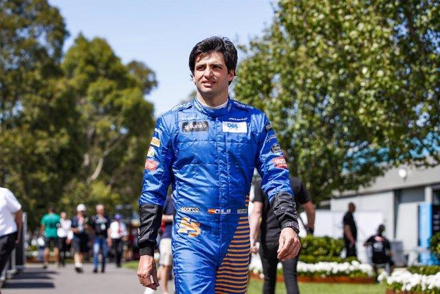 """Fórmula 1.- Sainz: """"No he firmado como segundo piloto de Ferrari, lo daré todo p"""