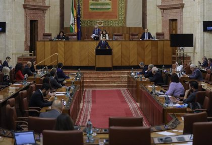 Primer pleno de dos días en el Parlamento andaluz desde el inicio del estado de alarma