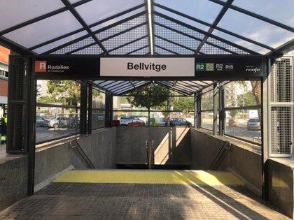 Renfe reabre el vestíbulo de la estación de Bellvitge