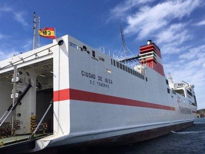 Naviera Armas Trasmediterránea reanuda el servicio de la línea Valencia-Ibiza