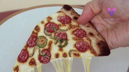 No es comida real, aunque lo parece: Así es el trabajo bordado de la artista japonesa Ipnot