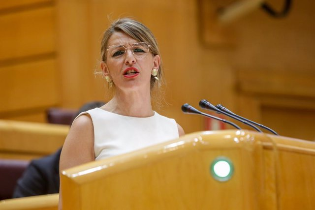 La Ministra de Treball i Economia Social, Yolanda Díaz