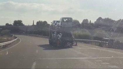 Interceptado un camión que circulaba en zig-zag por Badajoz cuyo conductor dió positivo en alcohol