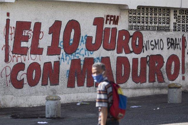 AMP.-Coronavirus.- El Gobierno de Venezuela y la oposición de Guaidó alcanzan un