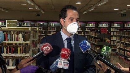 """Aguado cree que el formato de las reuniones con la oposición es """"indiferente"""" mientras haya """"diálogo"""""""
