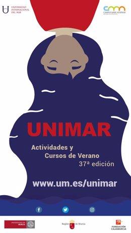 Cartel de los cursos de verano de UNIMAR