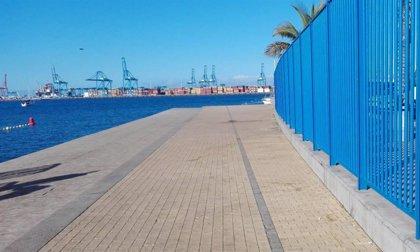 El Ayuntamiento de Las Palmas de Gran Canaria prohíbe el acceso al solario de Las Alcaravaneras