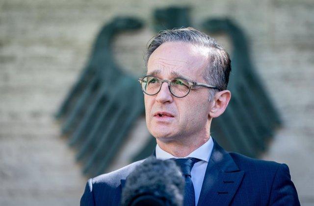 German Foreign Minister Maas presser in Berlin