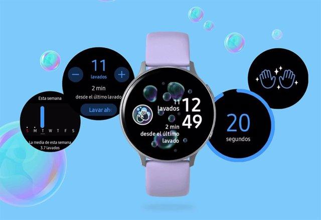 Aplicación 'Hand Wash' para sus smartwatches