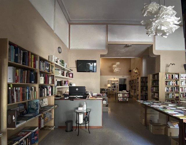 Interior de una librería