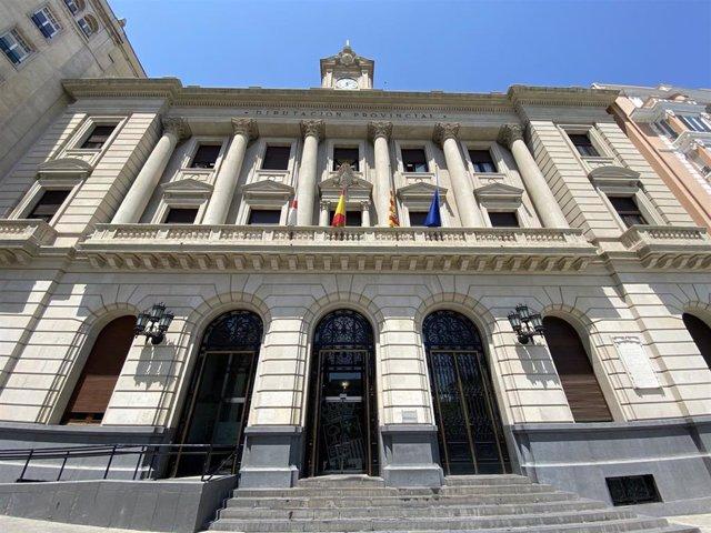 Sede de la Diputación de Zaragoza.