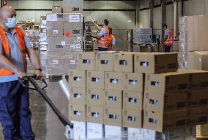 La Generalitat tiene reservas de material para medio año y mantendrá al menos tres almacenes