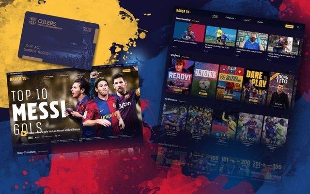 Fútbol.- El FC Barcelona estrena 'Barça TV+' con más de 3.000 vídeos