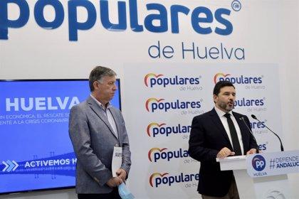 El PP exige al Gobierno la apertura de la frontera con Portugal para impulsar el turismo en la provincia de Huelva
