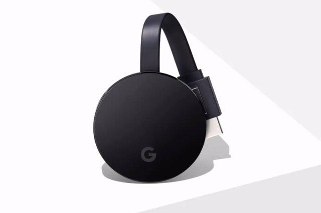 El próximo Chromecast de Google, con Android TV integrado, control remoto y disp