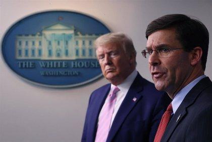 El jefe del Pentágono se desmarca de Trump y descarta desplegar al Ejército para sofocar las protestas