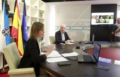 García y Conde repasan junto a agentes sociales el paquete de medidas de conciliación a las familias ante el coronavirus