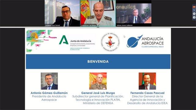 Jornada sobre el sector aeroespacial organizada por la Junta de Andalucía