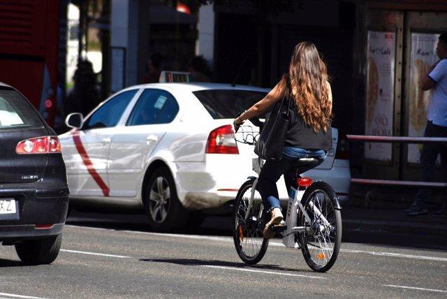 Recurso de una usuaria de BiciMad.