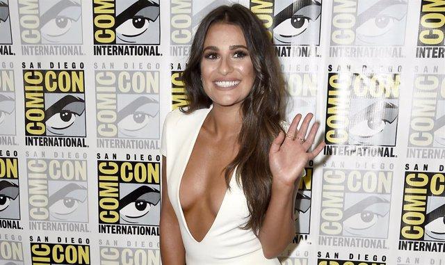 Lea Michele , la protagonista de Glee
