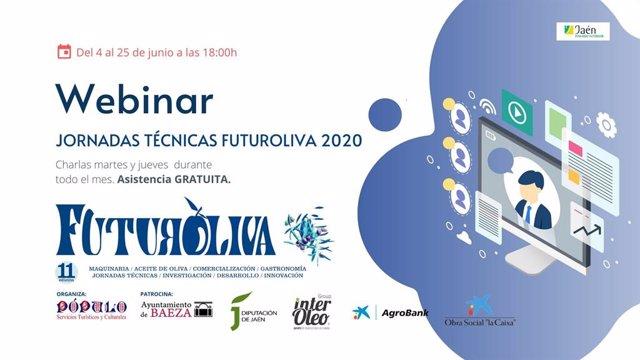 Jaén.- Futuroliva 2020 organiza y adapta sus jornadas técnicas de manera online