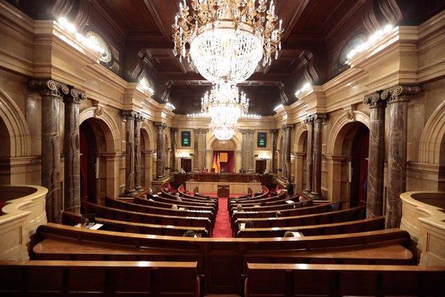 Pleno del Parlament del 3 de junio.