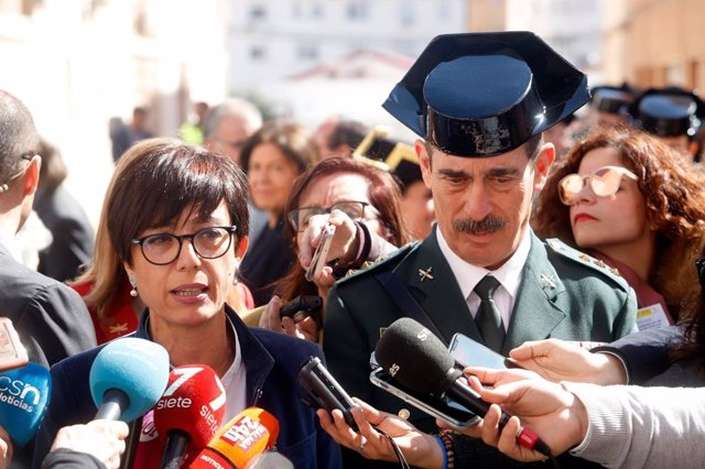 La directora de la Guardia Civil, María Gámez, en una imagen de archivo