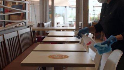 McDonald's prepara los salones de sus restaurantes para la nueva normalidad