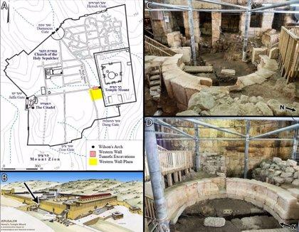 Identificados los orígenes del Monte del Templo de Jerusalén