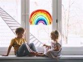 Foto: La distancia social, ¿podrán mantenerla los niños?