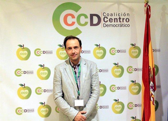 Félx Antonio Calleja Bolado, edil de CCD-CI, impulsor de la iniciativa.
