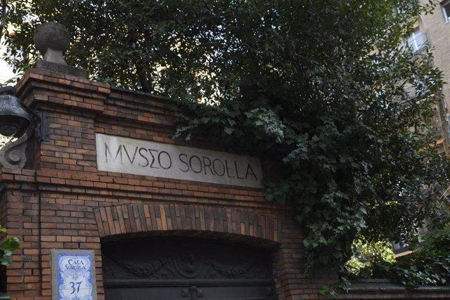 Entrada del Museo Sorolla ubicado en Madrid