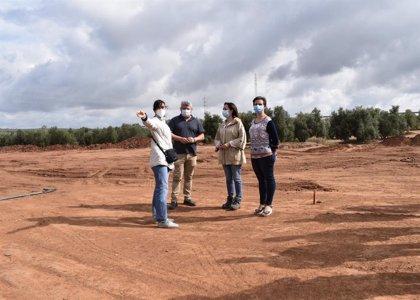 Comienzan las obras de construcción de la planta depuradora de aguas de Vilches