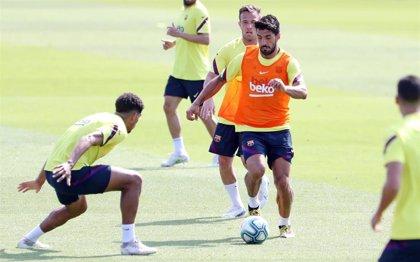 """Luis Suárez: """"Estoy muy bien, disfrutando con los compañeros"""""""